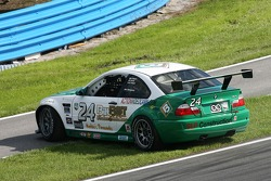 Spin for #24 Matt Connolly Motorsports BMW M3: Mike Pickett, Bill Cotter, Ray Mason