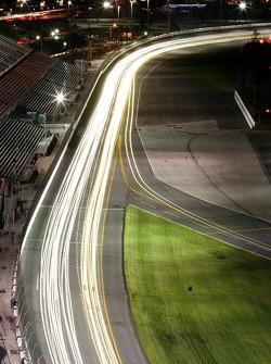 Night lights at Daytona
