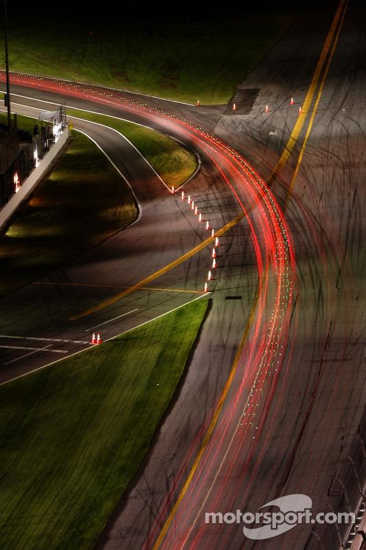 Feux de nuit à Daytona