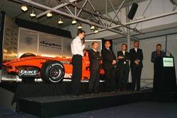 James Key; Mike Gascoyne; Colin Kolles; Michiel Mol; Victor Muller, Spyker-Ferrari