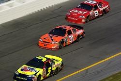 Kyle Busch, Jeff Burton and Dale Earnhardt Jr.