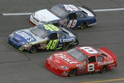Dale Earnhardt Jr., Jimmie Johnson, Mike Bliss