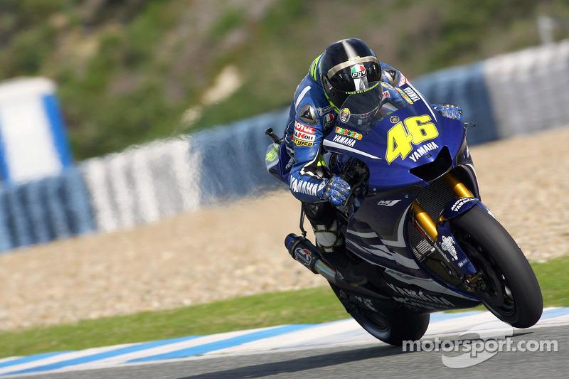 Jerez februari test
