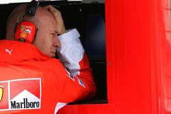David Lloyd, Scuderia Ferrari, Race Operations Manager