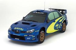 The new Subaru Impreza WRC2007