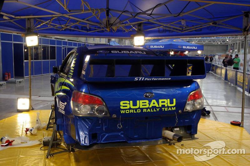Subaru WRT Subaru Impreza 2007 WRC