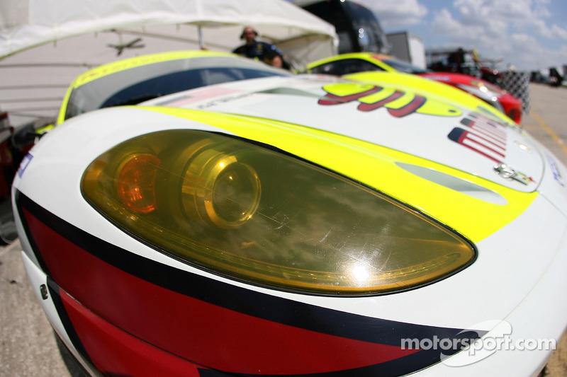 Détail de la Ferrari Petersen White