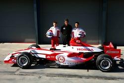 Anthony Davidson, Super Aguri F1 Team, Aguri Suzuki, Super Aguri F1 ve Takuma Sato, Super Aguri F1, Super Aguri F1 Team, SA07, Launch