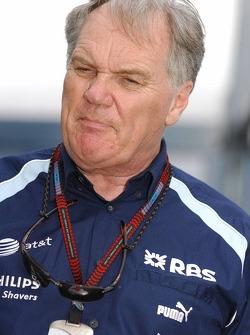 Patrick Head, WilliamsF1 Team, Director of Engineering