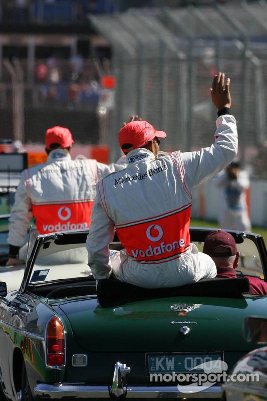 Парад гонщиків: Льюіс Хемілтон, McLaren Mercedes