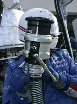 Team Oreca team member at work