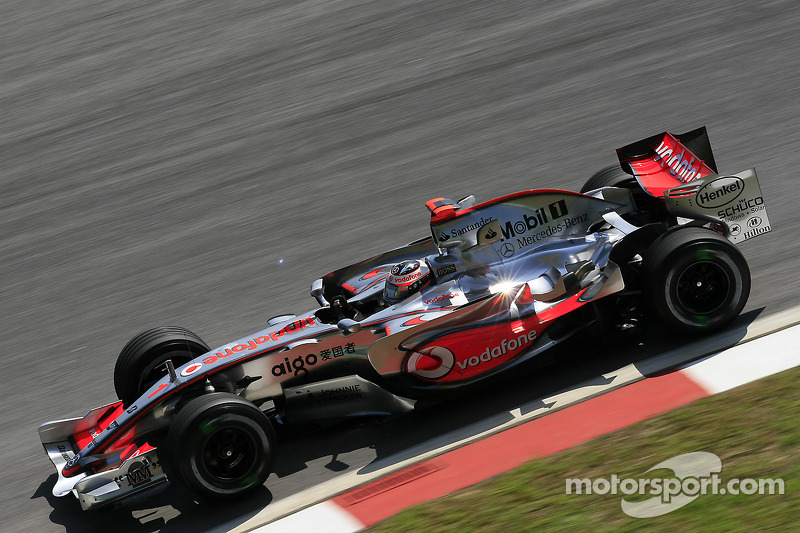 2007 : Fernando Alonso, McLaren-Mercedes MP4-22