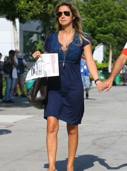 Rafaela Bassi, girlfriend of Felipe Massa