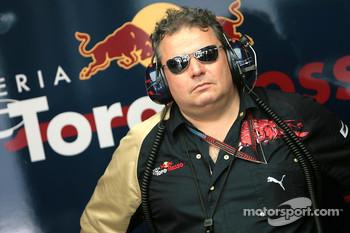 Technical director Giorgio Ascanelli