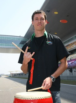 Alan van der Merwe, Driver of A1Team South Africa