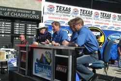 Victory lane: interviews for race winner Jeff Burton