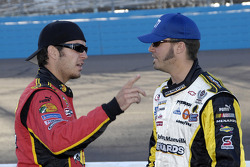 Martin Truex Jr. and Paul Menard