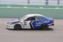 #32 i-MOTO Racing Acura TSX: Christian Miller, Roger Foo