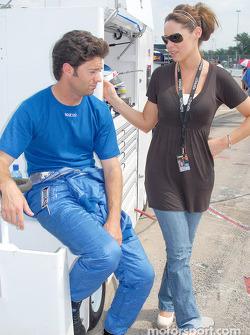 Jonathan Bomarito et sa femme Laura