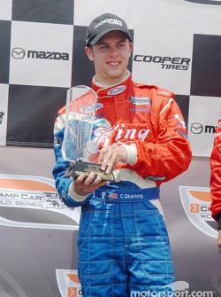 Second place Carl Skerlong