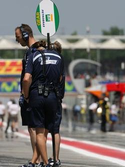 Williams F1 Team members