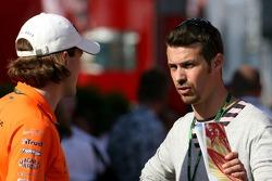 Markus Winkelhock, Test Driver, Spyker F1 Team, Tiago Monteiro