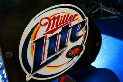 Detail of the Miller Lite Dodge