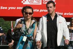 Scott Speed, Scuderia Toro Rosso and his girlfriend
