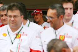 Victory celebrations at Ferrari: Michael Schumacher, Scuderia Ferrari, Advisor