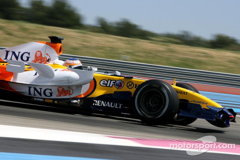 Nelson A. Piquet, Test Driver, Renault F1 Team