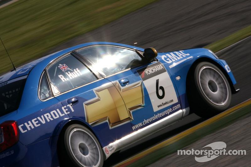 Robert Huff, Team Chevrolet, Chevrolet Lacetti