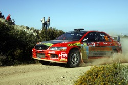 Giuseppe Dettori and Marco Corda, Mitsubishi Lancer Evolution IX