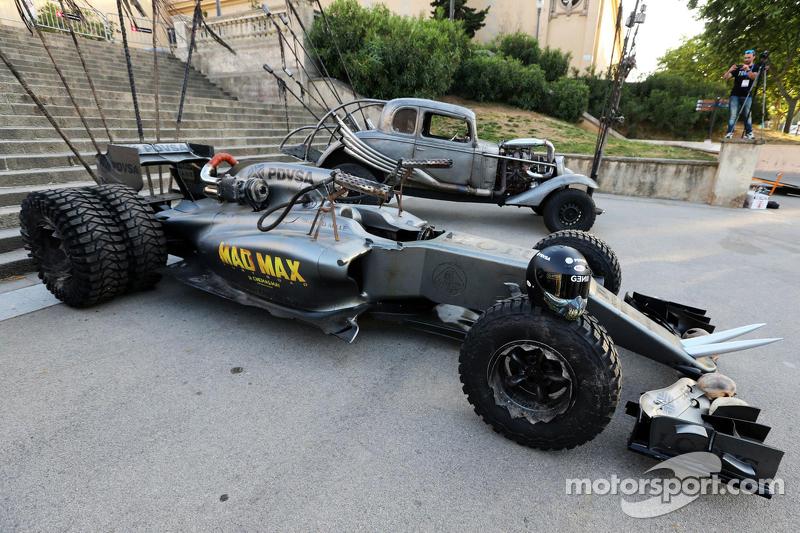 Das Lotus-Formel-1-Auto in der Optik von Mad Max