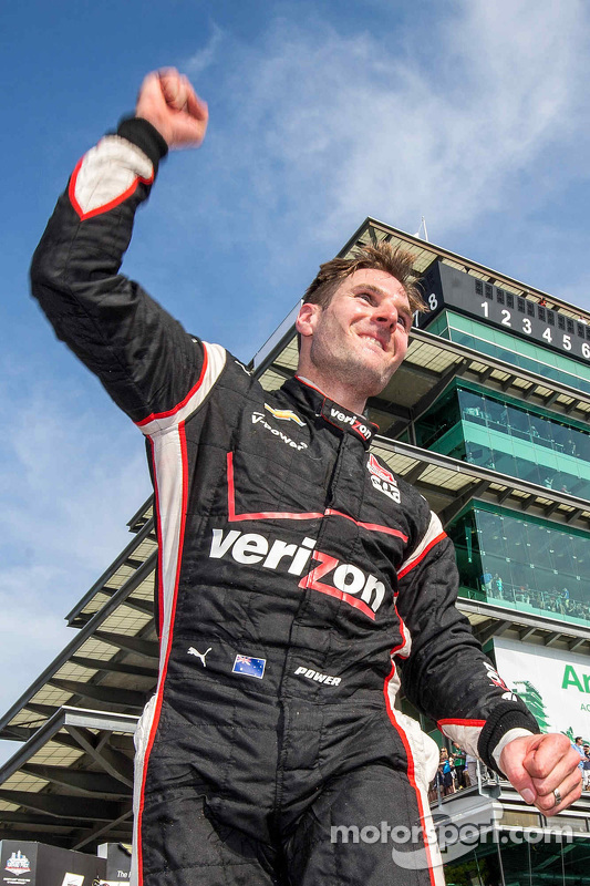 Le vainqueur Will Power, Team Penske