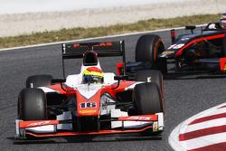 Sergio Canamasas, MP Motorsport y Sergey Sirotkin, Rapax