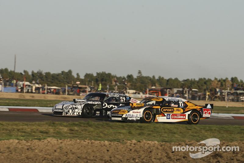 Leonel Pernia, Las Toscas Racing Chevrolet and Laureano Campanera, Donto Racing Chevrolet
