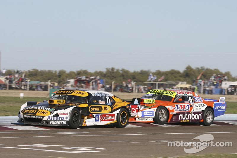Leonel Pernia, Las Toscas Racing Chevrolet and Jonatan Castellano, Castellano Power Team Dodge