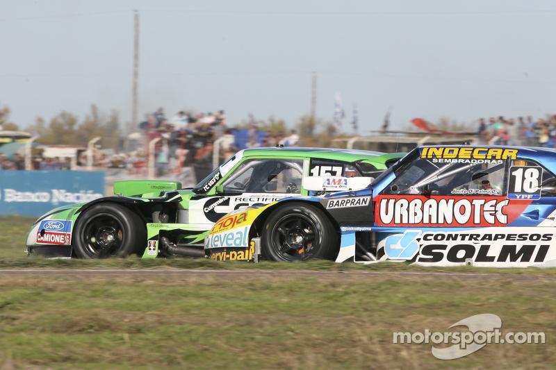 Juan de Benedictis, Alifraco Sport, Ford, und Luis Jose di Palma, Indecar Racing, Torino