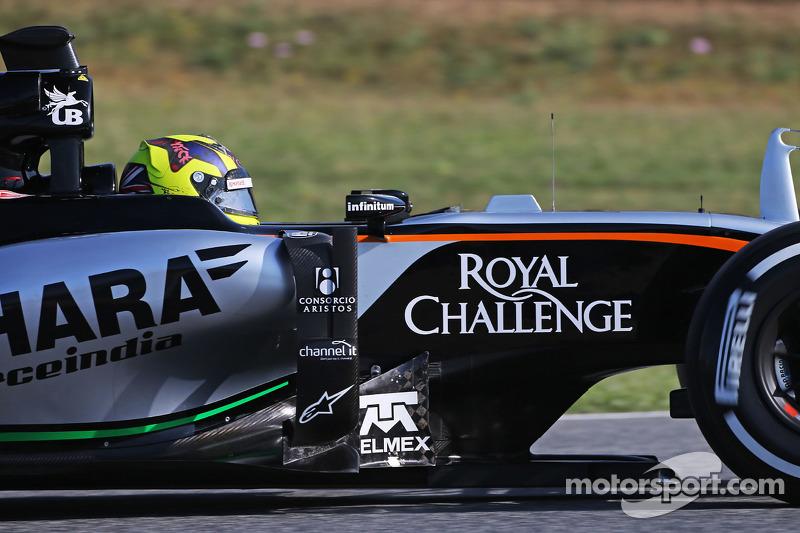 Nick Yelloly, 印度力量车队VJM08试车手