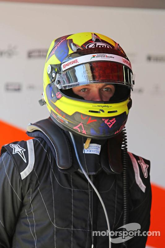 Nick Yelloly, Sahara Force India F1 tester