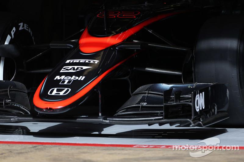 McLaren MP4-30, burun
