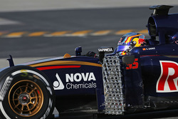 Carlos Sainz Jr., Scuderia Toro Rosso STR10 Funcionamiento equipo de sensores