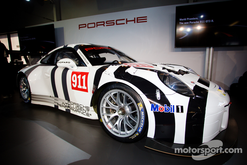 Porsche 911 GT3 R presentation: the new Porsche 911 GT3 R