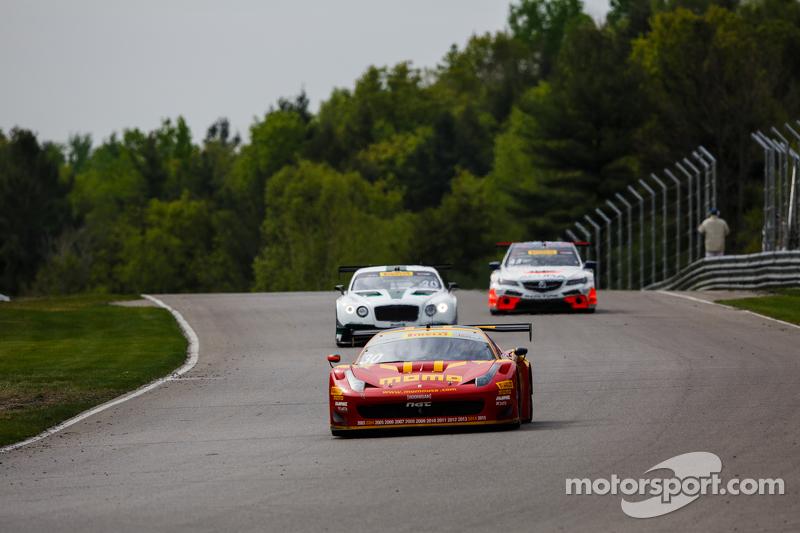 #30 NGT Motorsport, Ferrari 458: Henrique Cisneros