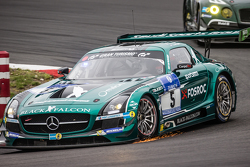 #5 Блек Фалкон Mercedes-Benz SLS AMG GT3: Абдулазіз аль-Фейсал, Хуберт Хаупт, Йелмер Бурман, Яп ван Лаген