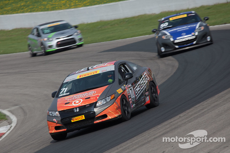 #71 Compass360 Racing, Honda Civic Si: Paul Holton