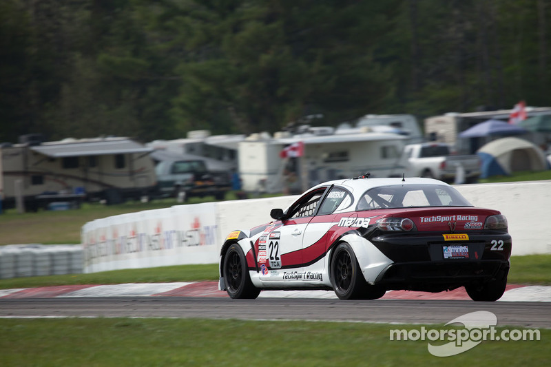 #22 Tech Sport Racing, Mazda RX8: Kevin Anderson
