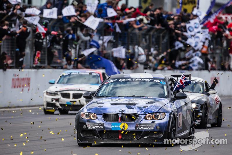 bendera kotak-kotak: # 51 Adrenalin Motorsport BMW 335i E92: Niels Borum, Maurice O 'Reilly, Michae
