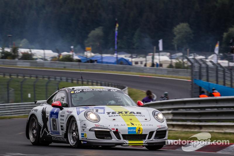 #161 Black Falcon, Porsche 911 Carrera: Sören Spreng, Aurel Schoeller, Christian Raubach