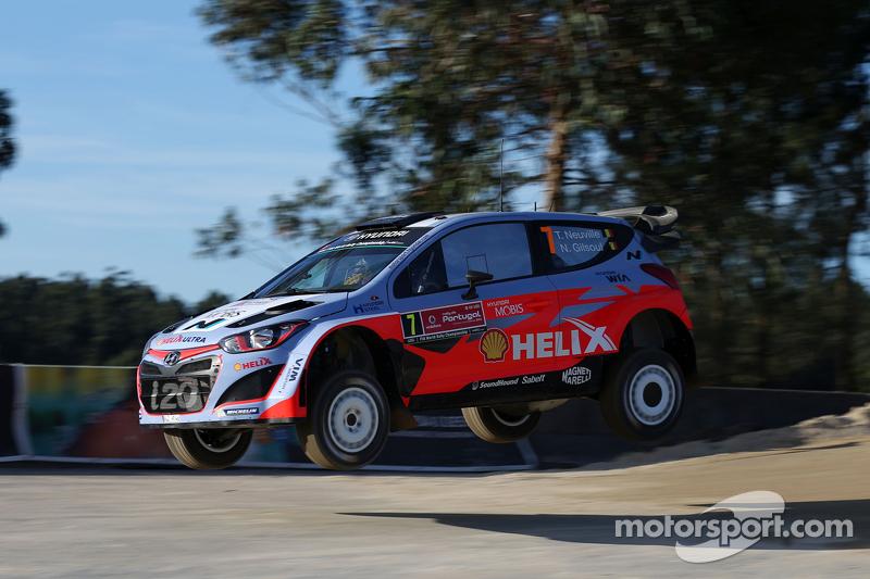 Thierry Neuville, dan Nicolas Gilsoul, Hyundai i20 WRC Hyundai Motorsport